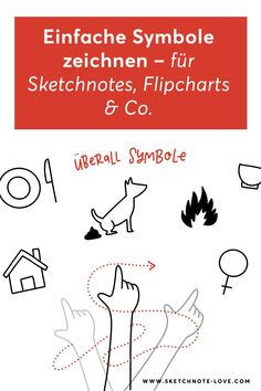 Symbole sind einfache Zeichen oder Bilder für Begriffe oder Vorgänge. Einfache Symbole fürs Flipcharts, Sketchnotes. Visual Thinking, Sketch Notes, Simple Doodles, Bullet Journal Inspiration, Visual Note Taking, The Last Song, Doodle Art Simple