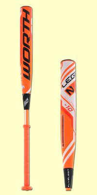 2016 Worth 2 Legit Fastpitch Softball Bats are HERE! Available in both -10 and -9 length to weight ratios. See what Worth's 2X4 Logic is all about!