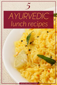 You can make these 5 simple Ayurvedic Lunch Recipes at home and even take them to work. You can make these 5 simple Ayurvedic Lunch Recipes at home and even take them to work. […] recipes at home Aryuvedic Recipes, Healthy Food Recipes, Alkaline Diet Recipes, Detox Recipes, Indian Food Recipes, Cooking Recipes, Vegan Recipes, Healthy Meals, Yogi Food