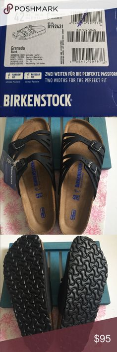 Birkenstock Granada Brand new never worn Granada size 42, US 11M. Comes in original box. Birkenstock Shoes Sandals