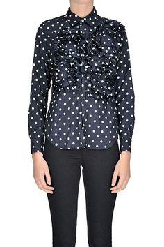 7adc36167afd Comme des Garçons Women s MCGLTPC000004058I Blue Polyester Shirt