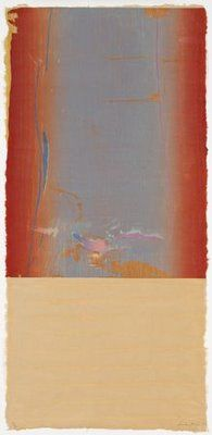 Helen Frankenthaler: Essence Mulberry (woodblock print)