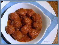 Bloc de recetas: Albóndigas en Slow Cooker Albondigas, Crockpot Recipes, Slow Cooker, Ethnic Recipes, Crock Pot, Food Ideas, Pop, Deserts, Food