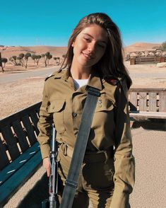 And what happened with all the pictures on uniforms? Related posts:Your hair will start to grow again in 20 Slide Female Soldiers 1968 Off Duty as Tourists KodachromeMilitary Women ❤💜💗💖💟💛💚💙 Idf Women, Military Women, Israeli Female Soldiers, Israeli Girls, Outdoor Girls, Brave Women, Military Girl, Girls Uniforms, Armada
