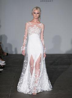 4 Ways Bridal Designers are Redefining Sexy Bridal Wedding Dresses, Bridal Style, Bridesmaid Dresses, Bridal Collection, Dress Collection, Groom Looks, Bridal Fashion Week, Bridal Looks, One Shoulder Wedding Dress