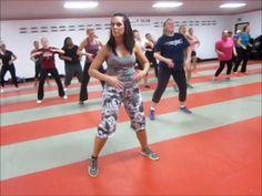 Zumba 1 Hour - 2014 Feb - Kardio Kim Johnson - new favorite online zumba class! Zumba Videos, Workout Videos, Dance Videos, Workout Abs, Exercise Videos, Zumba For Beginners, Zumba Toning, Cardio Dance, Dance Exercise