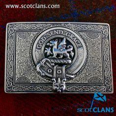 Crichton Clan Crest Kilt Buckle