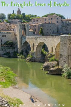 Why You Need to Visit the Fairytale Town of Besalú, Costa Brava, Spain - Besalú is a beautiful medieval village in the Costa Brava in Catalonia. It's like walking through a fairytale! #medievalvillage #spain #besalu #girona #catalonia #fairytale