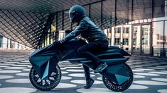 BigRep appears to be a specialist in two-wheeled printing: after presenting its printed puncture-proof bike tire, the German manufacturer unveils NERA. A functional, fully printed electric motorcycle, apart from its electrical components. Impression 3d, Level Design, E Mobility, Formula E, Electrical Components, Yanko Design, Motorcycle Design, Bike Design, Retro Motorcycle