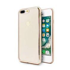 . Funda tpu gel para iphone 7 plus color frame dorado..funda protectora de tpu compatible con iphone� 7. fabricada en materiales de alta calidad, resistentes y duraderos adapt�ndose por completo a tu dispositivo. apenas notar�s que la llevas instalada en tu