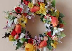 Veniec Floral Wreath, Wreaths, Handmade, Home Decor, Floral Crown, Hand Made, Decoration Home, Door Wreaths, Room Decor