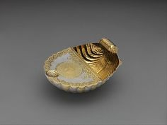 Feeding bowl from Hungary  Date: 1690  Medium: Silver, partly gilded Collection | The Metropolitan Museum of Art
