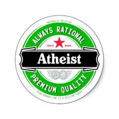 Atheist...COOOL. JUST LOVE IT!