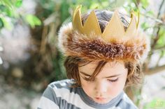 Max Crown Where the Wild Things Are - Full Head Size on Etsy, $35.00