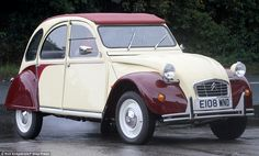 How Citroen 2CV wrecks are being restored in Britain... and then sold back to France for a nice little earner | Mail Online