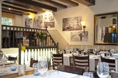 Restauarant Dwars is owned by our friend and chef Jo Vaessen. You will experience wunderfull pure combinations with beer