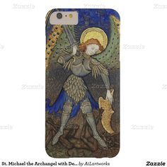 St. Michael the Archangel with Devil Barely There iPhone 6 Plus Case
