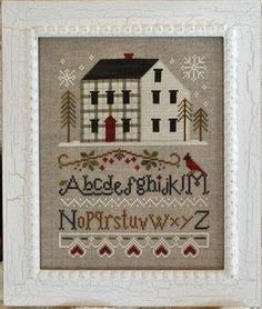 Winter Plaid by Little House Needleworks