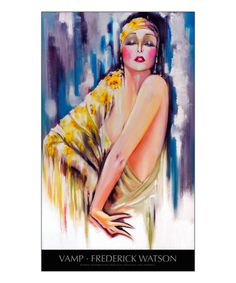 Vamp with title Giclee Print