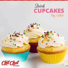 Soft and Fluffy, tasty cupcakes for a perfect treat at Chit Chat Food  http://www.chitchatindia.net/ | 93853 88800  #ChitChat #ChitChatFood #IceCream #Cakes #Cookies #Pizza #Puffs #Cupcakes #Beverages #Milkshakes #Icecreams