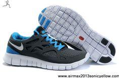 Buy Discount Mens Nike Free Run 2 Black Navy White Shoes Sports Shoes Shop
