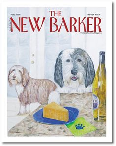 The New Barker WINTER 2015/2016 issue #cover #dogmagazine #magazine #magazinecover #winterissue #winecheese
