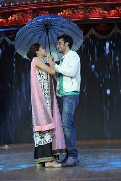 Deepika Padukone and Ranbir Kapoor