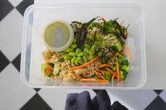 Sushi Roll Edamame Salad – Shutterbean