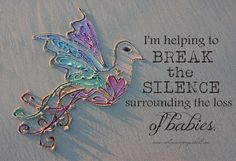 Breaking The Silence surrounding the death of babies