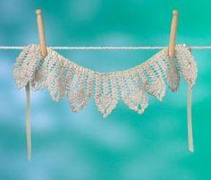 Pearl Crocheted Collar