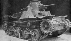 A Japanese Type 95 Ha-Go Light Tank.
