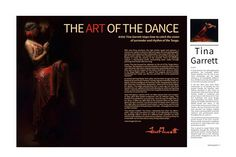 THE ART OF THE DANCE Artist Tina Garrett stops time to catch the vision of surrender