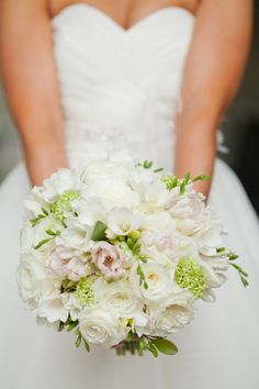 Love the blooms chosen for this bridal bouquet ~ Photography by shannonchristopher.com, Floral Design by harveydesigns.com