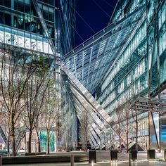 I love this place!!! Entrance to Broadgate Tower, London