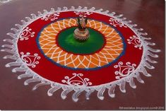 Decorate your house with colorful, beautiful & attractive happy diwali rangoli designs. We have provided best rangoli designs for deewali festival Sanskar Bharti Rangoli Designs, Rangoli Patterns, Rangoli Ideas, Rangoli Designs Diwali, Rangoli Designs Images, Rangoli Designs With Dots, Beautiful Rangoli Designs, Happy Diwali Rangoli, Diya Rangoli