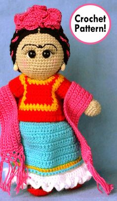 frida kahlo Crochet pattern, frida kahlo amigurumi Pattern, Amigurumi frida kahlo Crochet, frida kahlo crochet pattern, frida kahlo crochet, frida kahlo amigurumi, crochet frida kahlo Amigurumi, frida kahlo crochet toy, frida kahlo amigurumi doll, #crochetdoll #crochetpattern #amigurumi #cincodemayo #handmade;