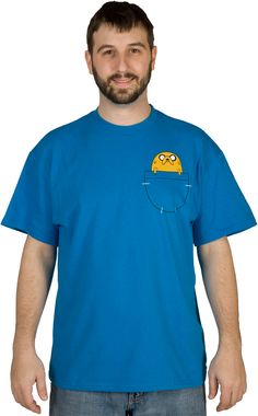 Jake In Pocket Adventure Time Shirt