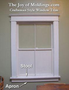 Window Moldings Interior   ... Style Window Surround   The Joy of Moldings.comThe Joy of Moldings.com