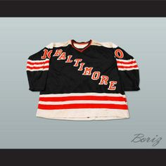 WHA Baltimore Blades Hockey Jersey NEW Stitch by acbestseller2175 26fb07c6e