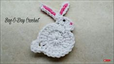 Mesmerizing Crochet an Amigurumi Rabbit Ideas. Lovely Crochet an Amigurumi Rabbit Ideas. Gato Crochet, Crochet Rabbit, Crochet Fish, Crochet Chicken, Easter Crochet, Crochet Patterns For Beginners, Knitting Patterns, Crochet Videos, Learn To Crochet
