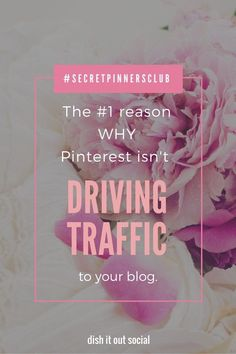 Wondering why your pins aren't getting the attention they deserve? I know why and I can show you how to fix it. #secretpinnersclub