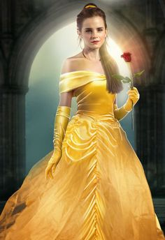 Emma Watson as Belle in Beauty and the Beast (2017)