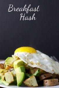 Breakfast Hash - replace potatoes with sweet potatoes