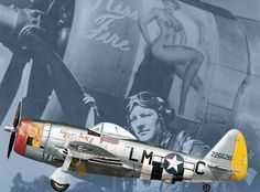 P-47 Thunderbolt with the USAAF – European Theatre of Operations