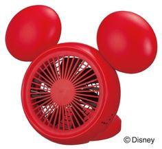 Disney Mickey Table FAN with Aroma (USB, AC, Battery) NPM-1084U(RD):Amazon:Home & Kitchen