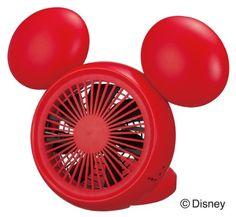 Disney Mickey Table FAN with Aroma (USB, AC, Battery) NPM-1084U(RD):Amazon:Home & Kitchen Casa Disney, Disney Rooms, Disney Dream, Disney Fun, Disney Style, Disney House, Mickey Mouse Classroom, Mickey Mouse House, Mickey Minnie Mouse