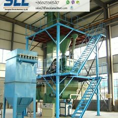 Semi-automatic Dry Mortar Mix Plant/production line for cement