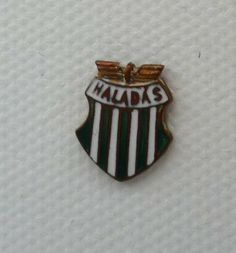 Another Hungarian club, Haladás of Szombathely, and another nice vintage badge.