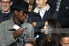 Paul Pogba and his girlfriend attend the UEFA Champions League... ニュース写真 | Getty Images