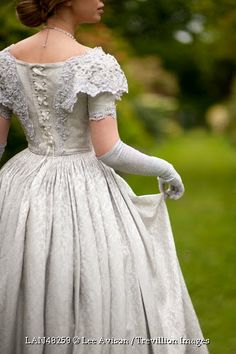 Trevillion Images - historical-woman-in-garden